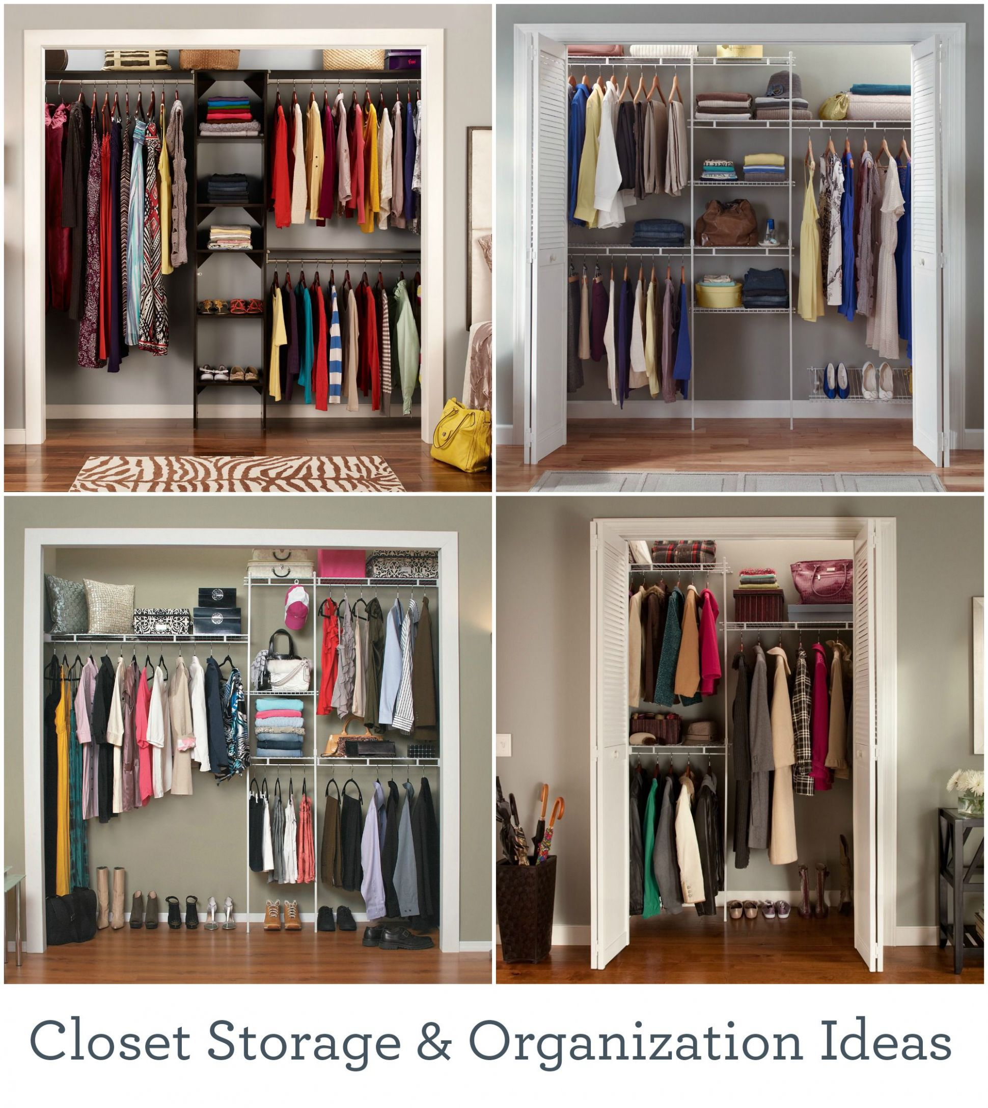 Make the most of your closet space with these storage solutions ..