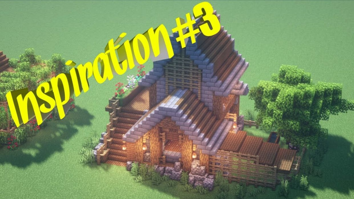 MINECRAFT how to build house TIME LAPES - BUILDING INSPIRATION #12 - house building inspiration