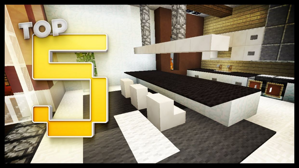 Minecraft - Kitchen Designs & Ideas