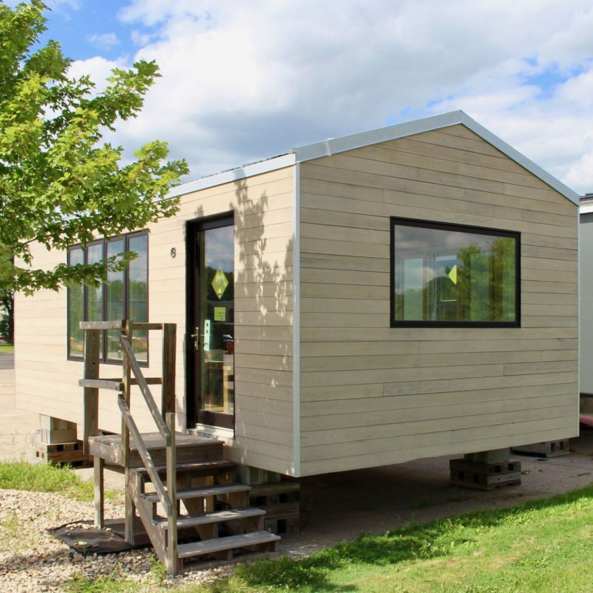 Minim Tiny House – Finish yourself! - Tiny House for Sale in Madison,  Wisconsin - Tiny House Listings
