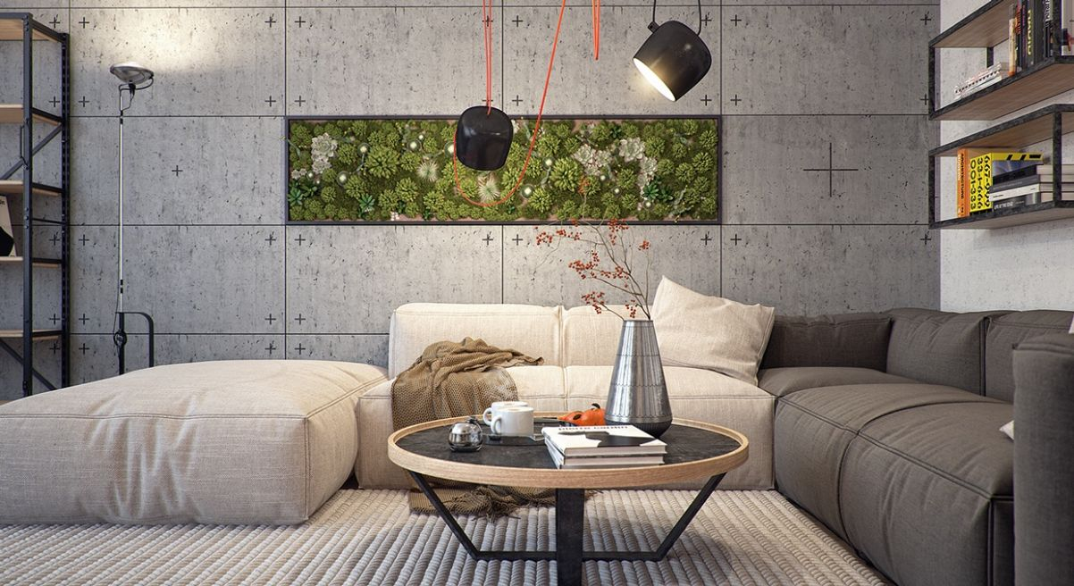Modern Apartment Design With Several Beautiful Natural Elements ...