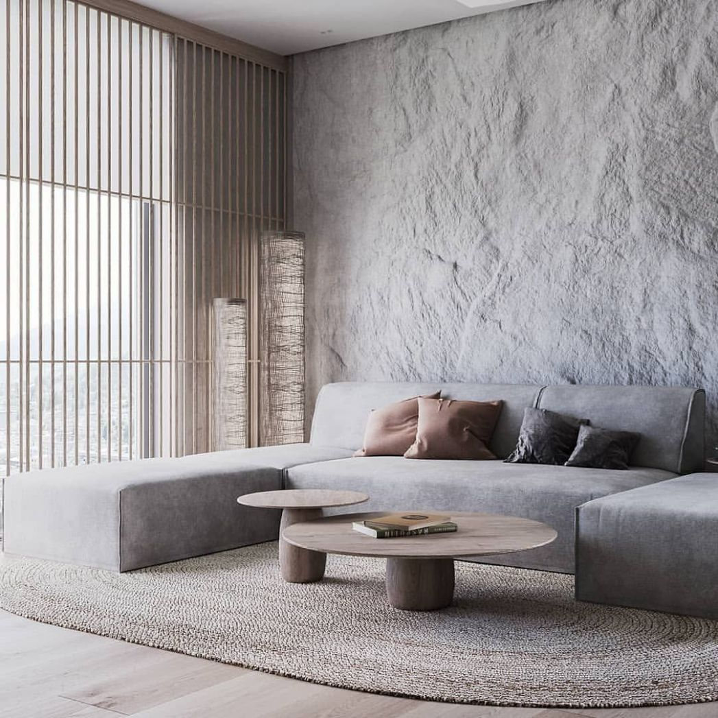 Natural Apartment is designed and visualized by Nazar Tsymbaliuk ..
