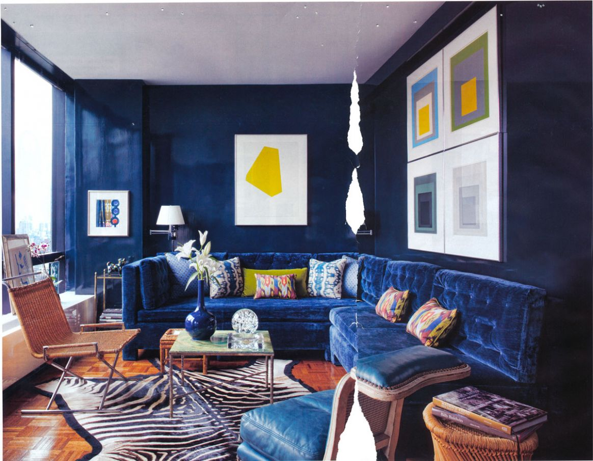 Navy Blue Living Room | Royals Courage : Wonderful Navy Blue ..