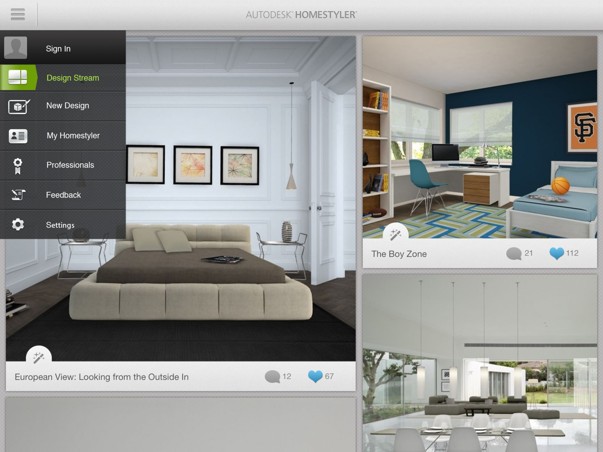 New Autodesk Homestyler App Transforms Your Living Space into ...