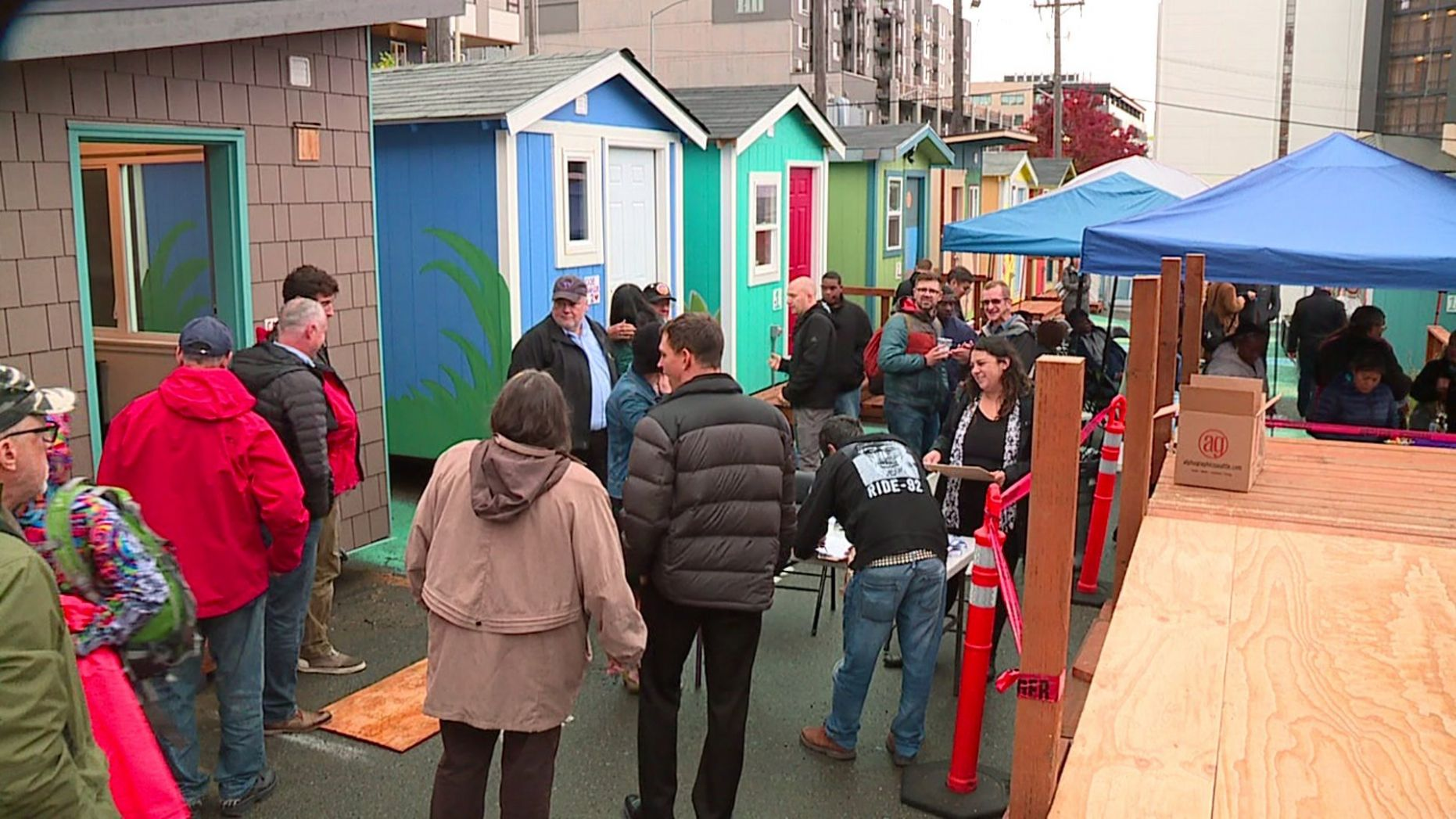 New tiny house village opens in south Lake Union neighborhood ..