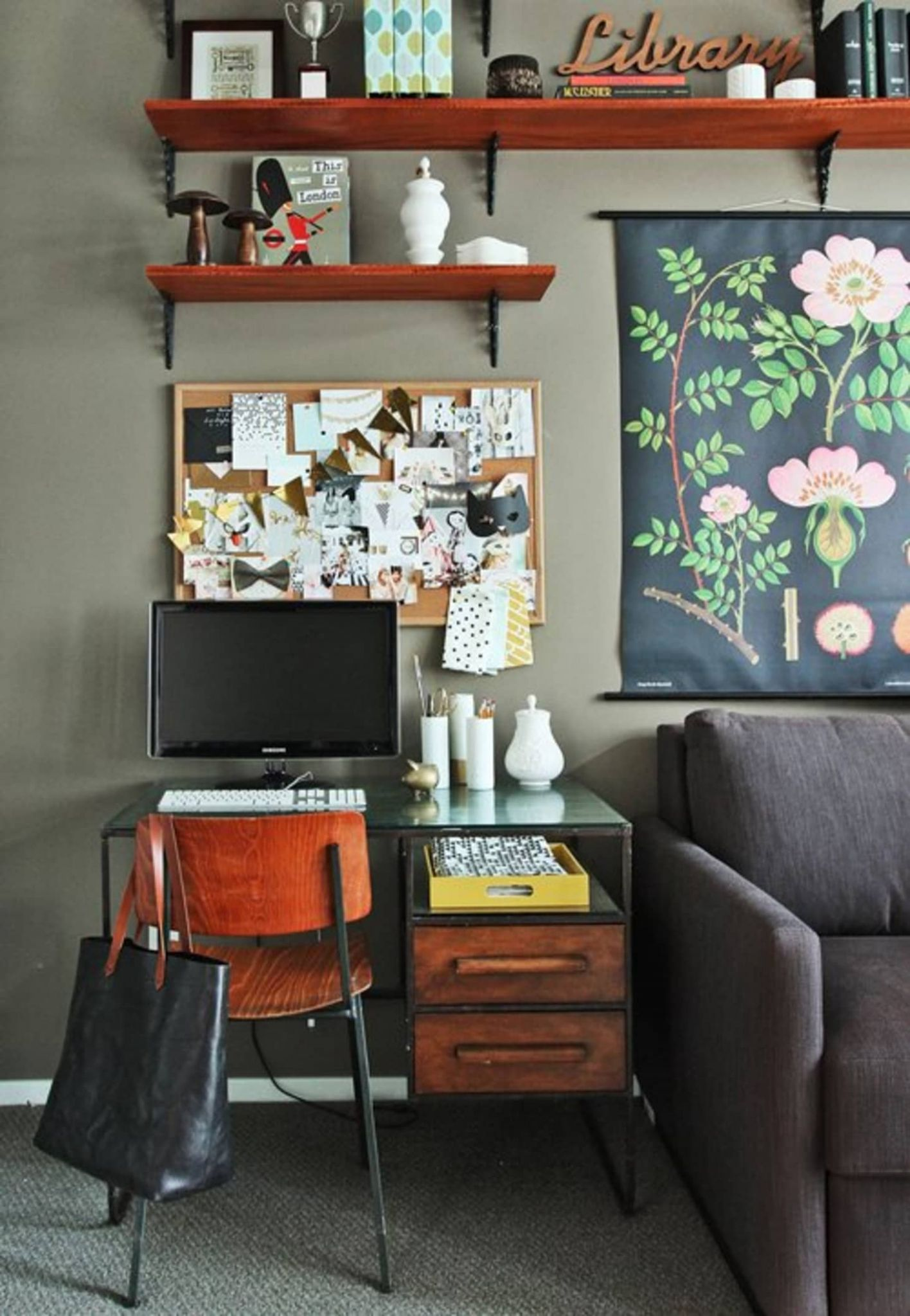 No Room for a Home Office? Design Ideas & Inspirations | Apartment ..