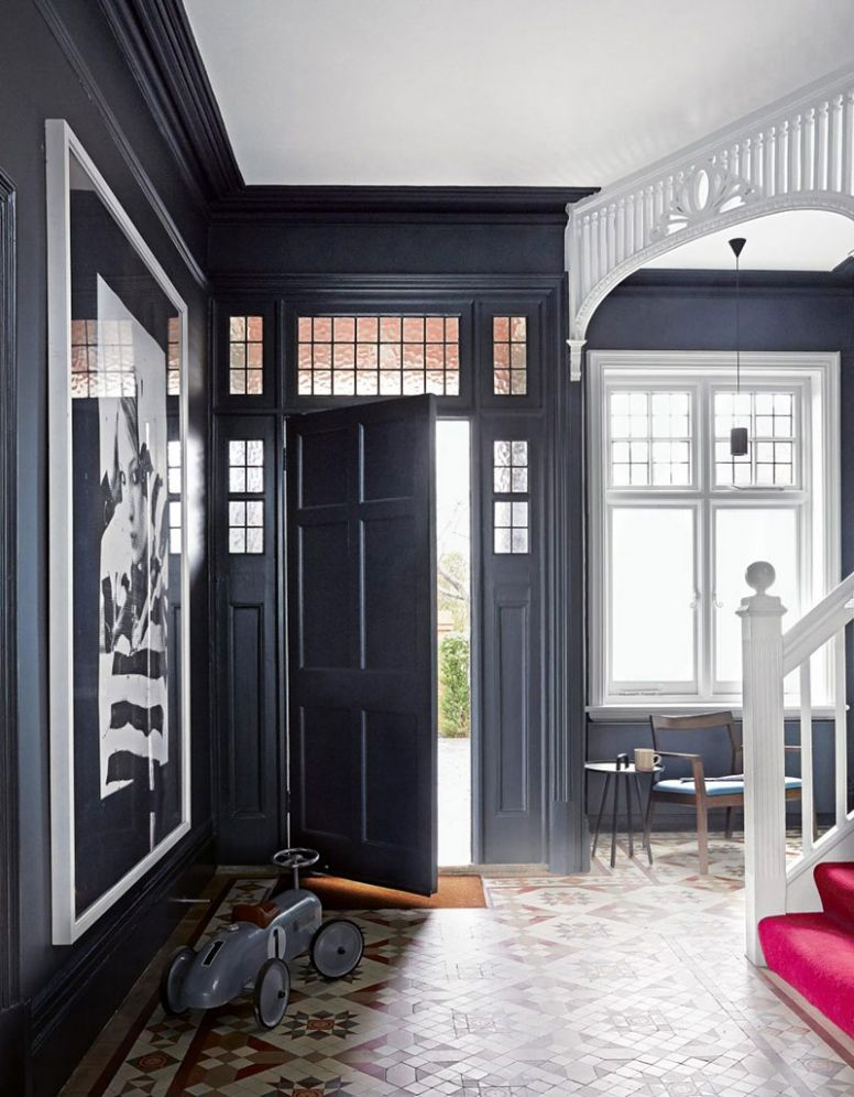 Not a typical English design in a classic Edwardian house ..