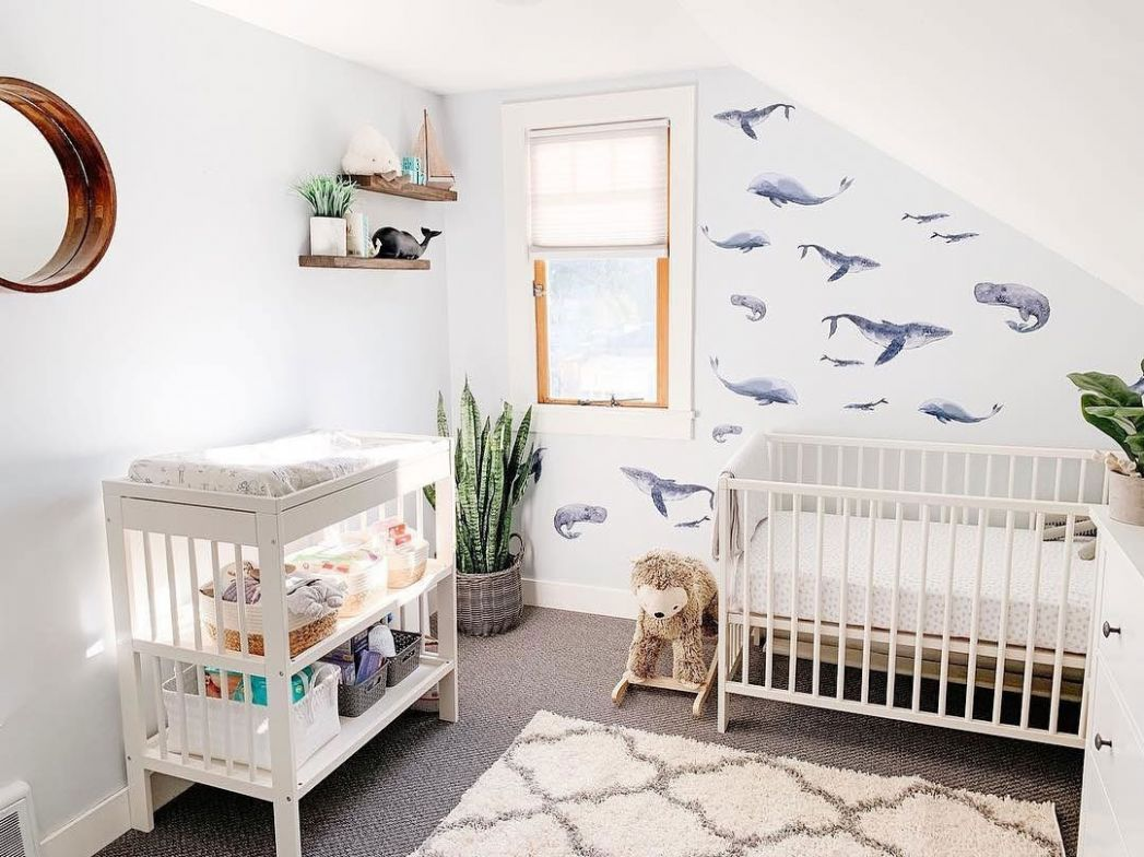 NURSERY TRENDS FOR 10 - Kids Interiors - baby room themes