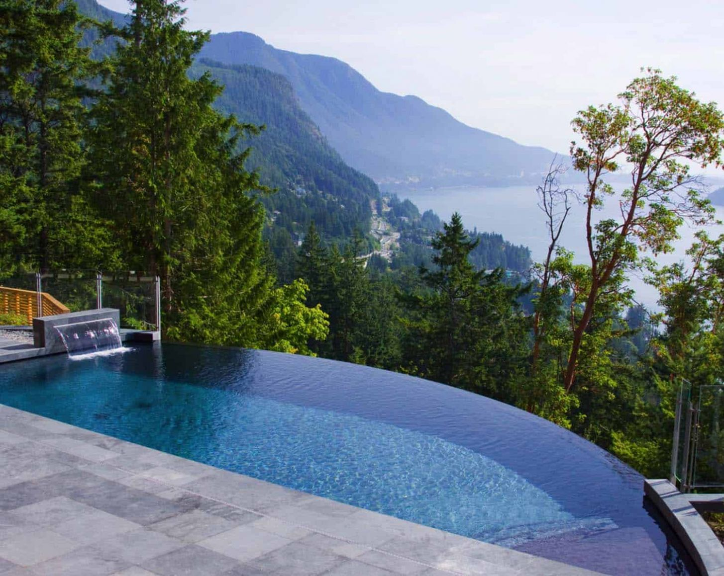 One Kindesign - pool ideas on a slope