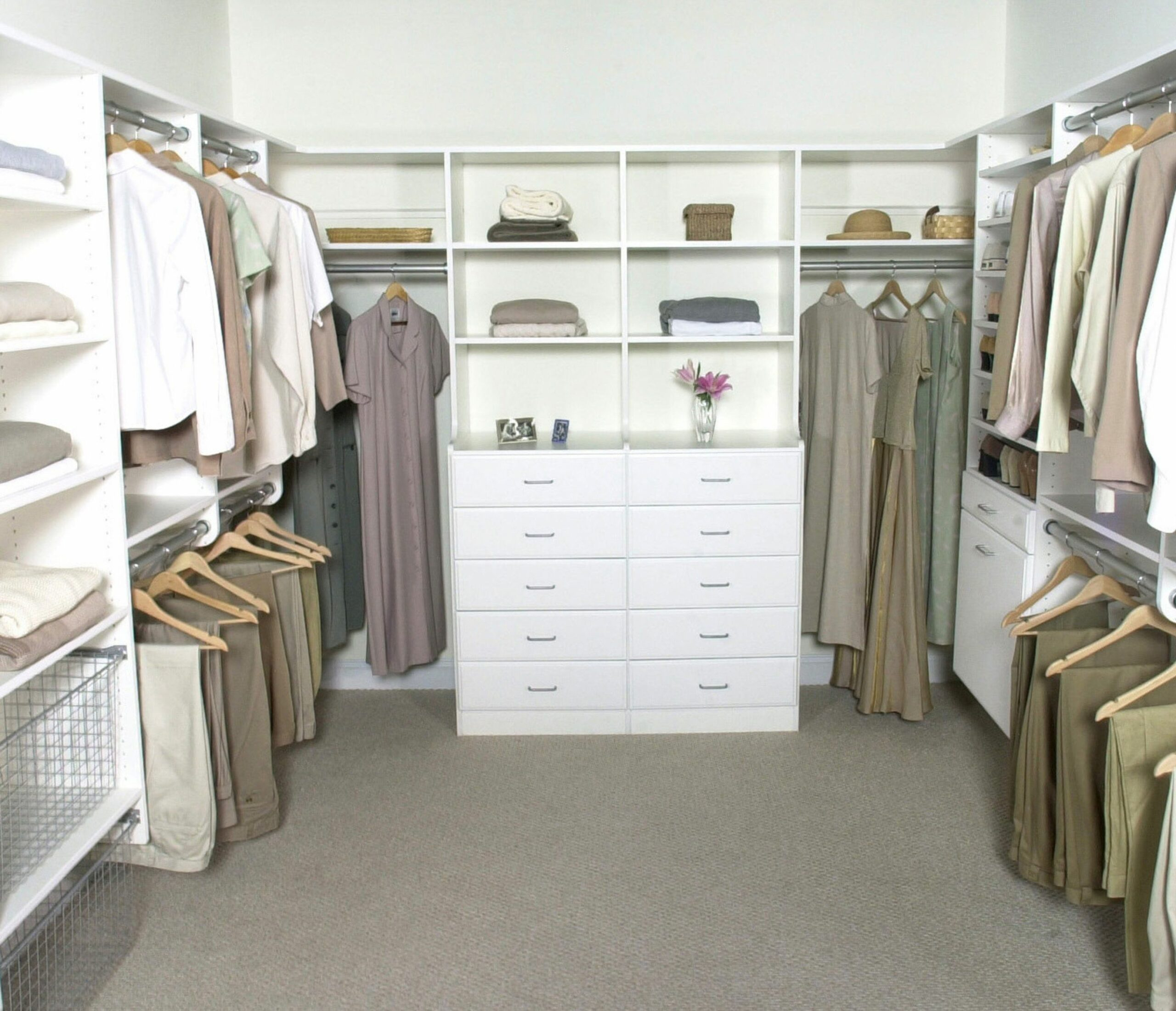 Open Closet Ideas Waplag Interior Bedroom Minimalist White Wooden ...