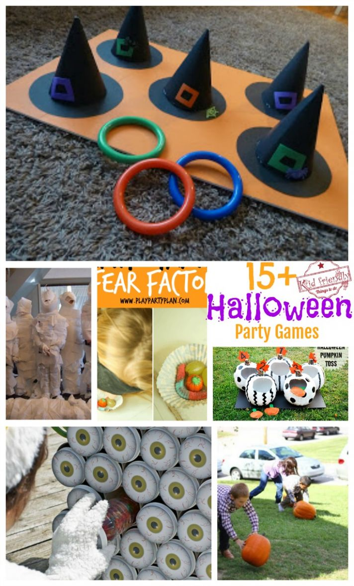 Over 9 Super Fun Halloween Party Game Ideas for Kids and Teens!
