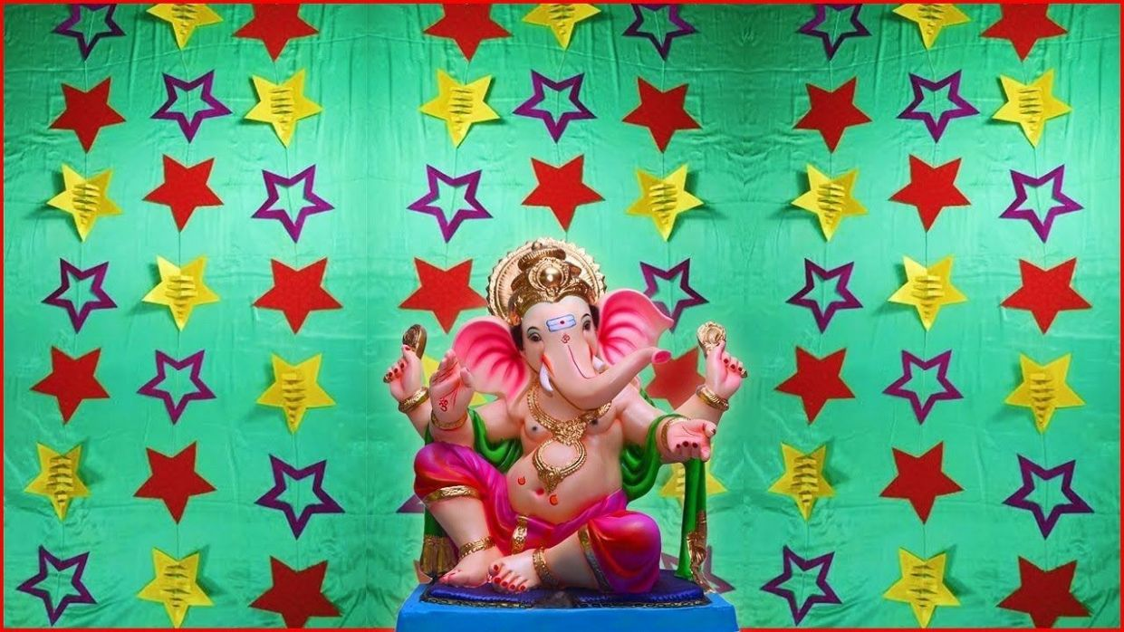PARTY Decoration idea/ Diwali /Ganpati decoration ideas at home ...