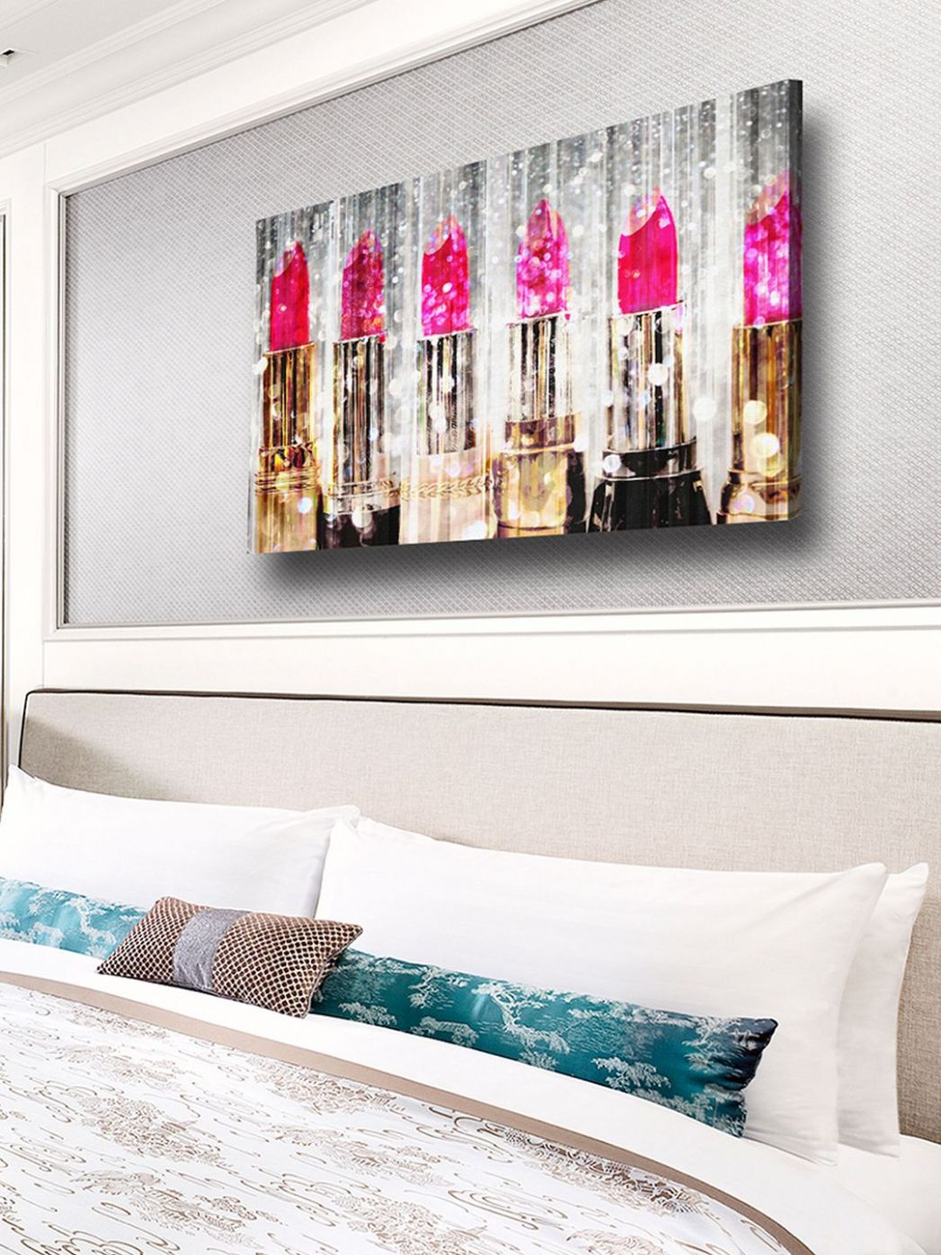 Pin on Decor - makeup room canvas