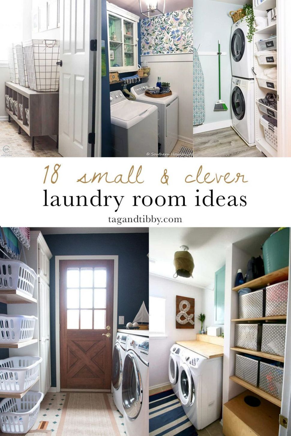Pin on Laundry Rooms - small laundry room makeover ideas