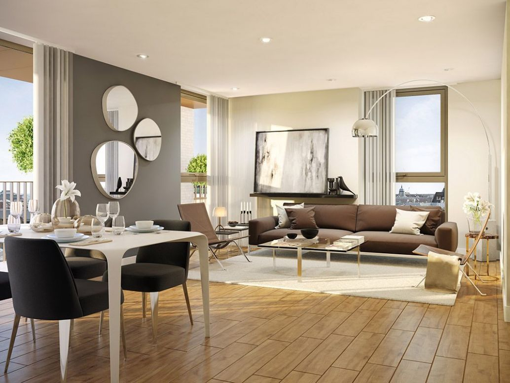 Places for People - Ruskin Square Apartment Interior CGI by www ...