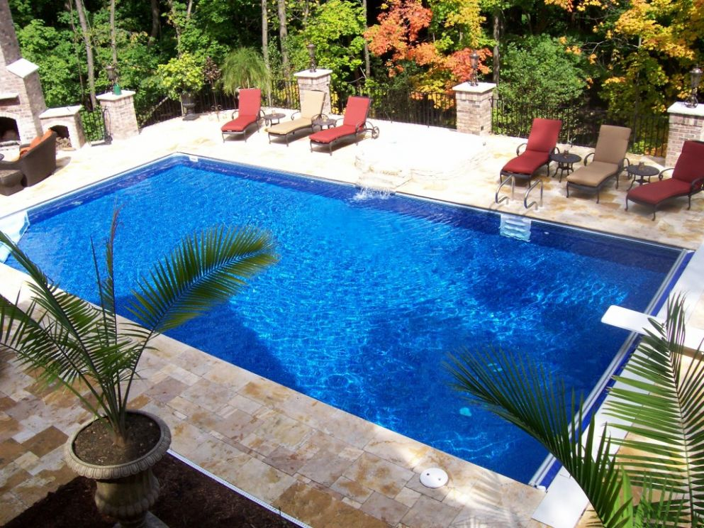 Pool Designs to Match Your Garden Style - pool ideas together