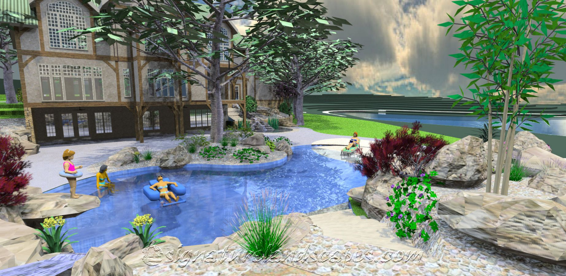 Pool Landscaping Ideas New Jersey | Lanscaping Design Home - pool landscaping ideas new jersey