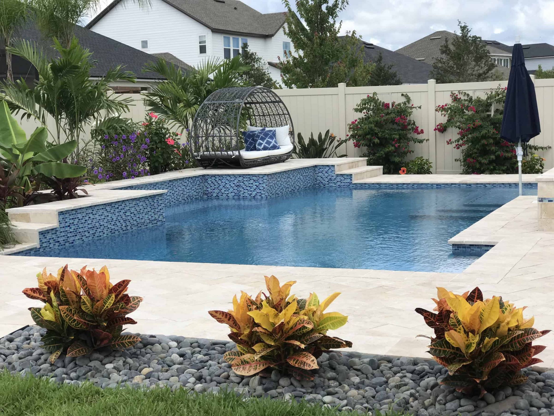 Popular Landscaping Trends for Homes with a Pool | Florida Luxury ..