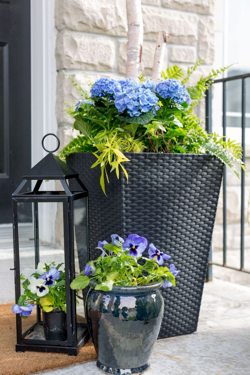 Porch Planter Ideas and Inspiration | Porch plants, Front porch ...