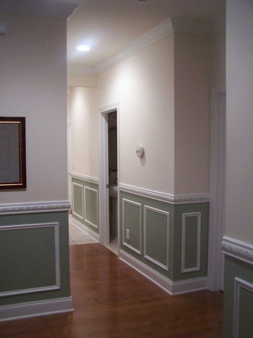 Purchase your Interior Through Wainscoting Ideas : Painted ..