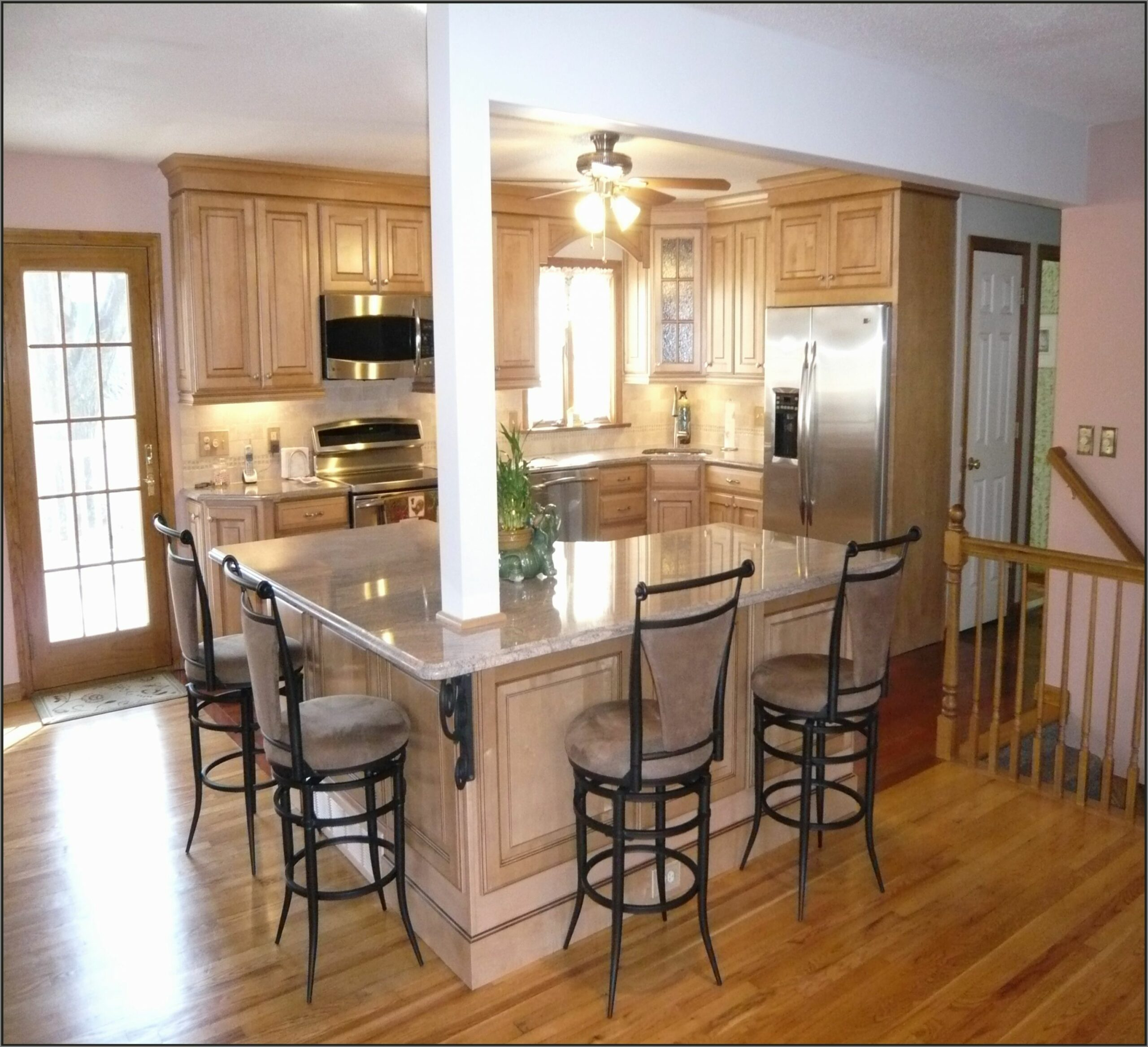 Ranch House Kitchen Remodel Ideas Cabinets Style Small Home Simple ..