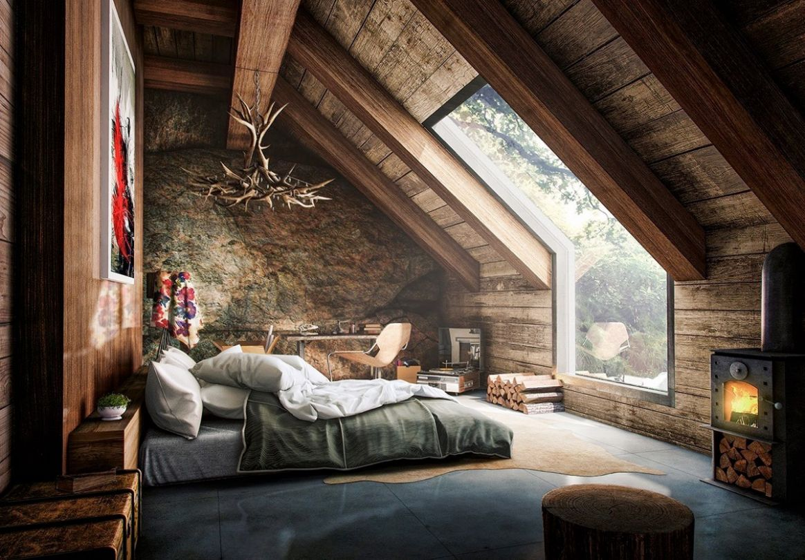 Rustic Bedrooms: Guide & Inspiration For Designing Them - house bed inspiration