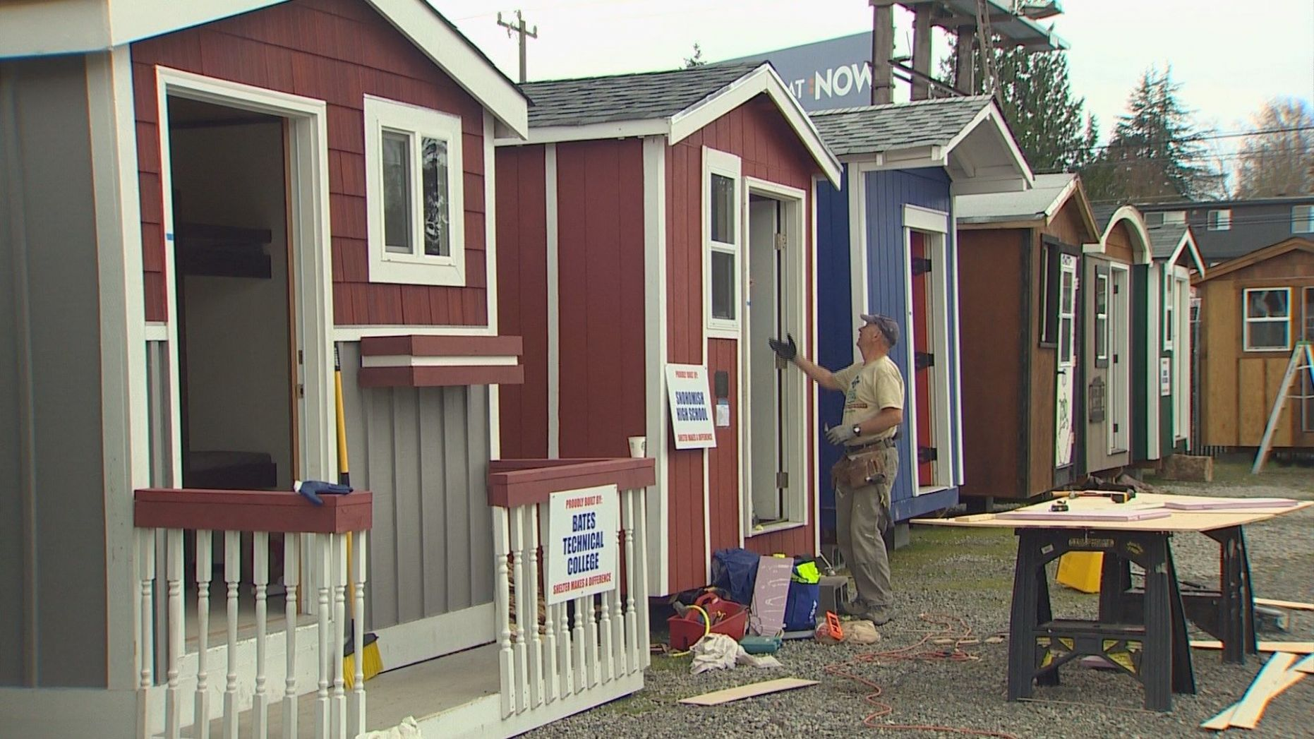 Seattle opens its first tiny house village for the homeless in ..
