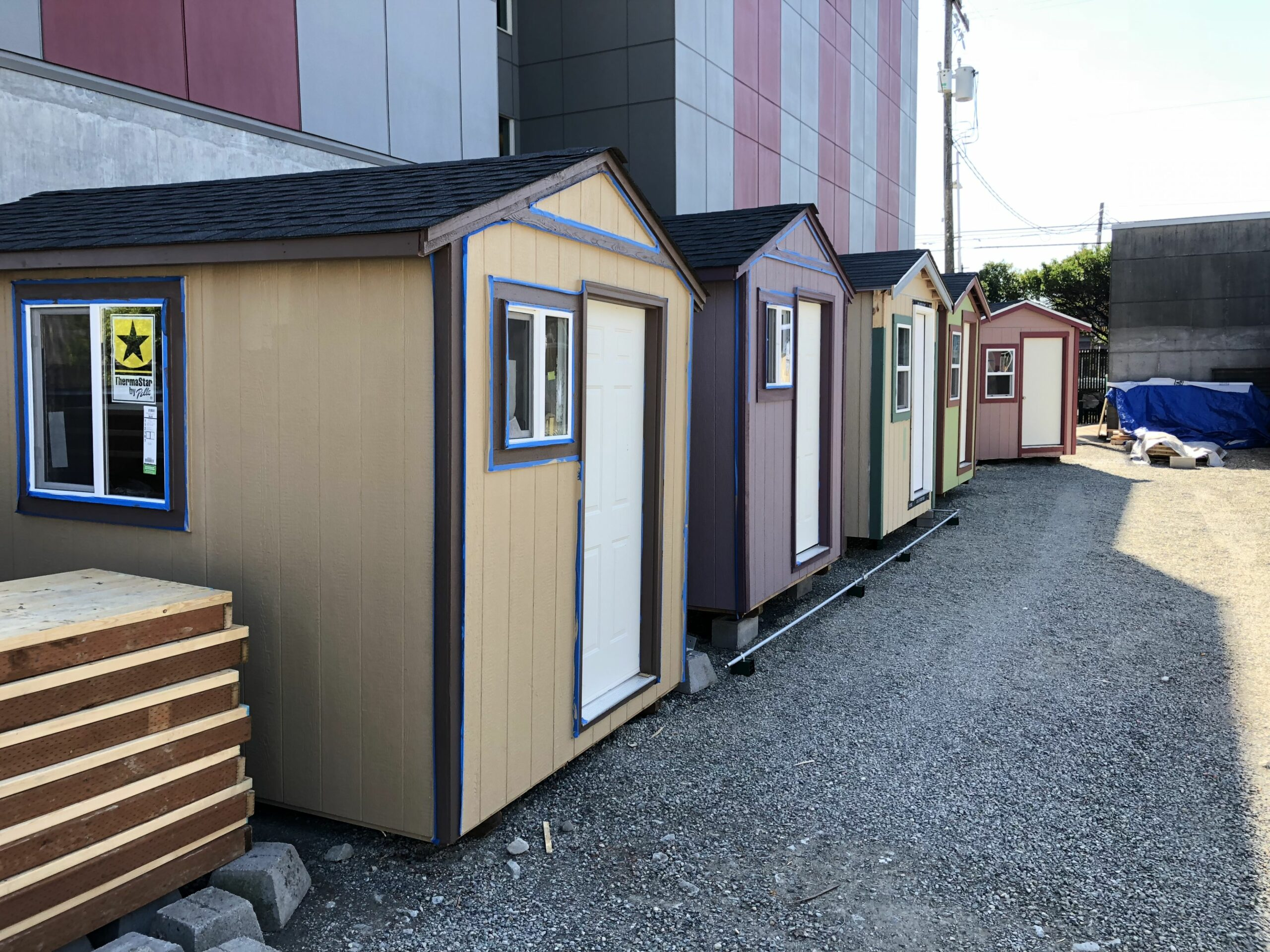 Seattle's new tiny house village for the homeless — women only ...