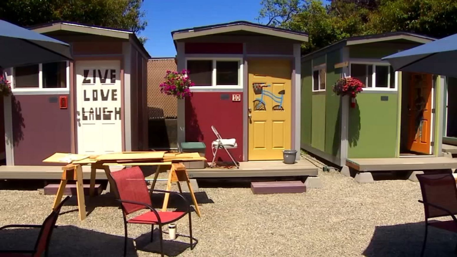 See inside Seattle's new tiny house village for homeless women