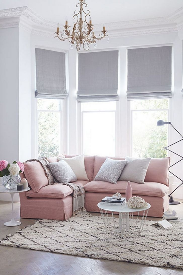 Shabby Chic Pink Sofa Ideas to Brighten Up Your Living Room 10 ..