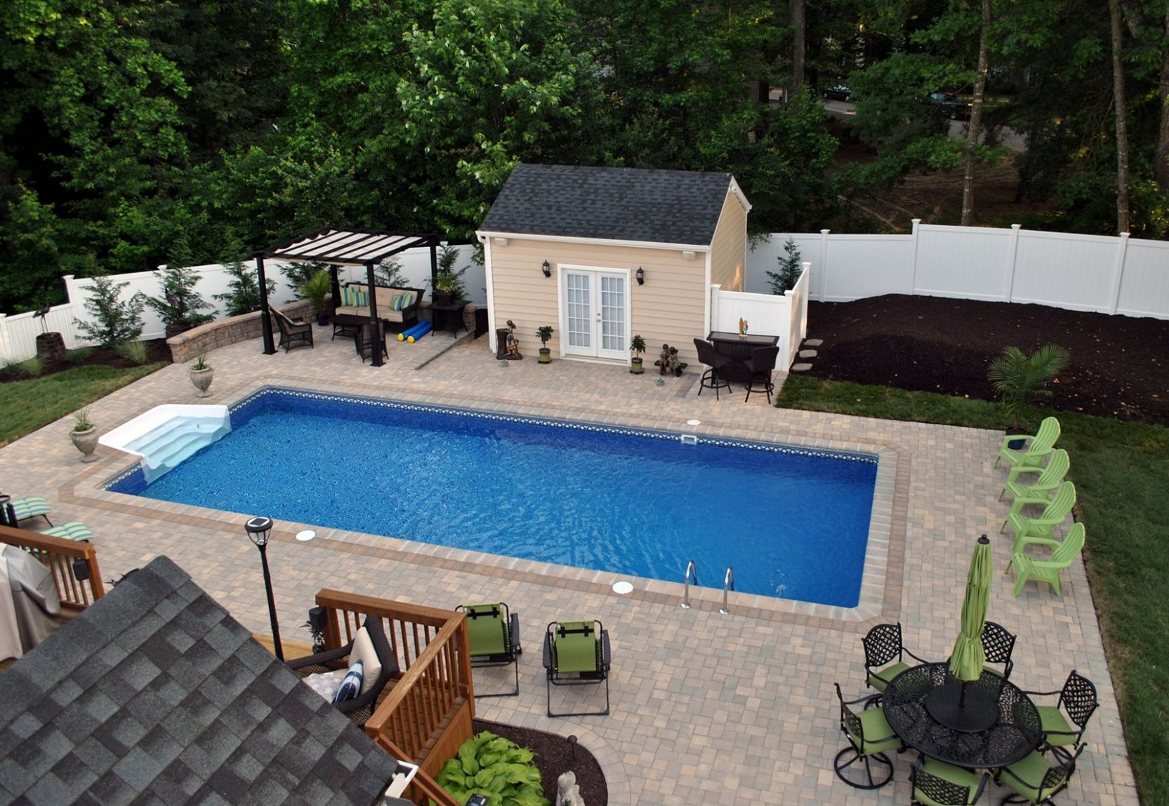 Simple Small Backyard Pool Ideas Above Ground Design Pictures ...
