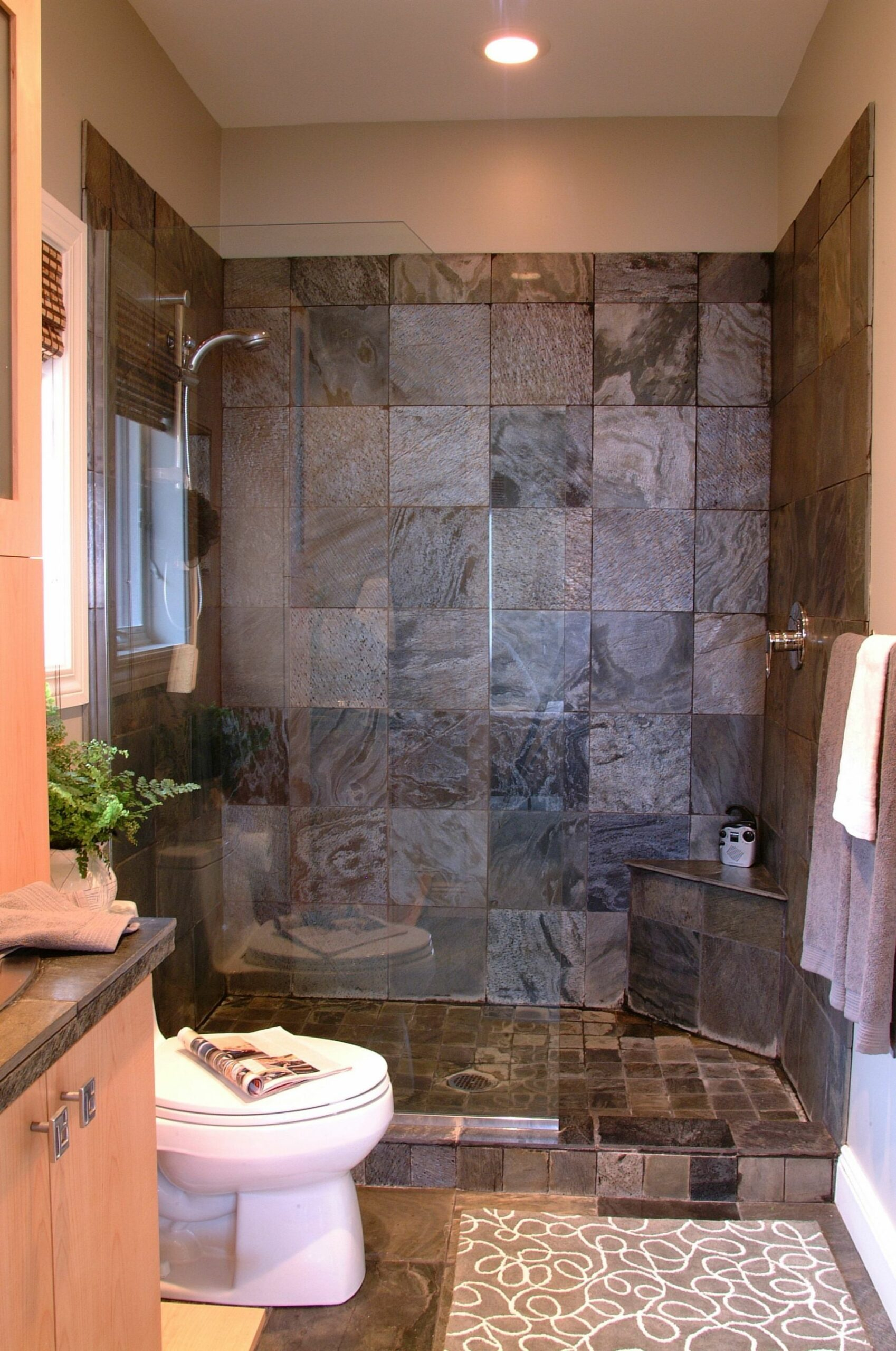 Small Bathroom Designs with Shower Ideas | Small bathroom, Small ..