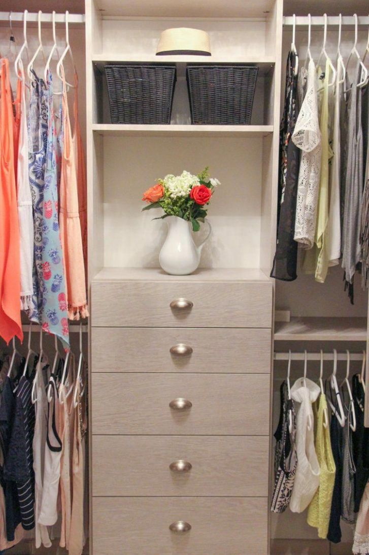 Small Custom Closet Ideas | Closet Built In Drawers | Cupped ..