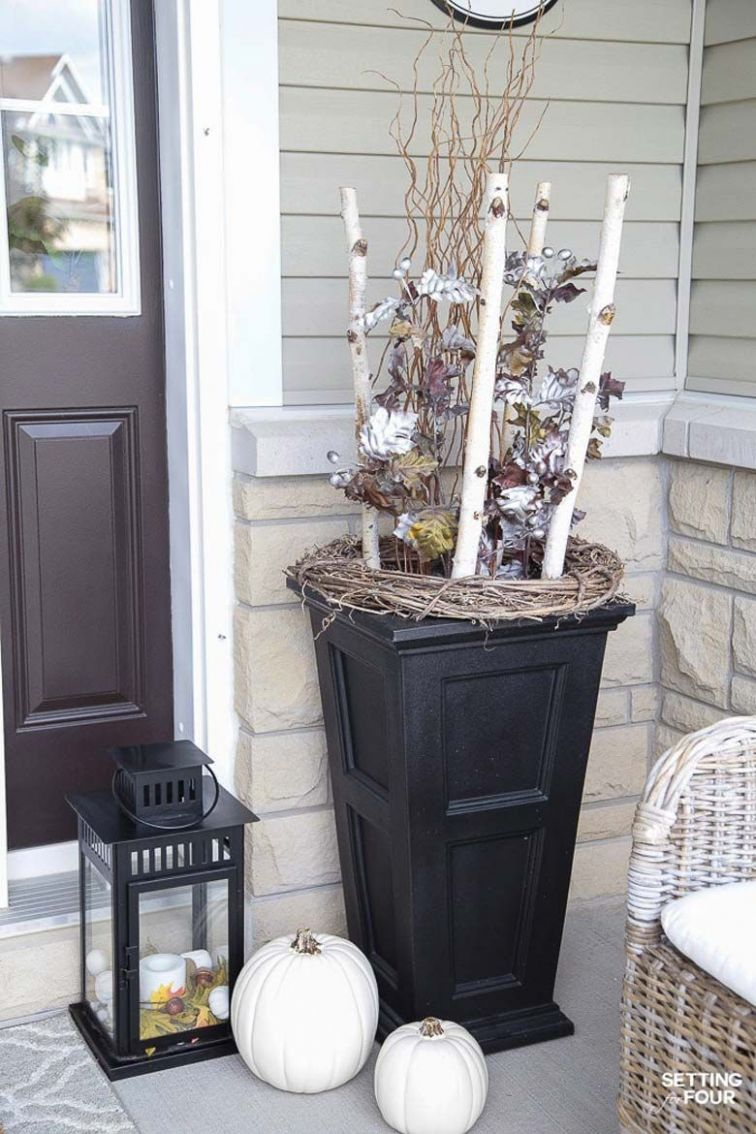 Small Front Porch Decorating Ideas | Porch decorating, Small porch ...