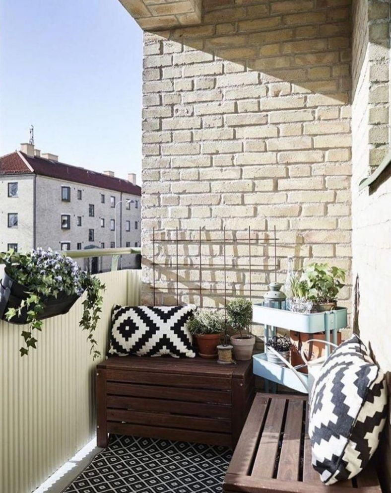 small garden patio ideas uk #patioideas | Small balcony design ...