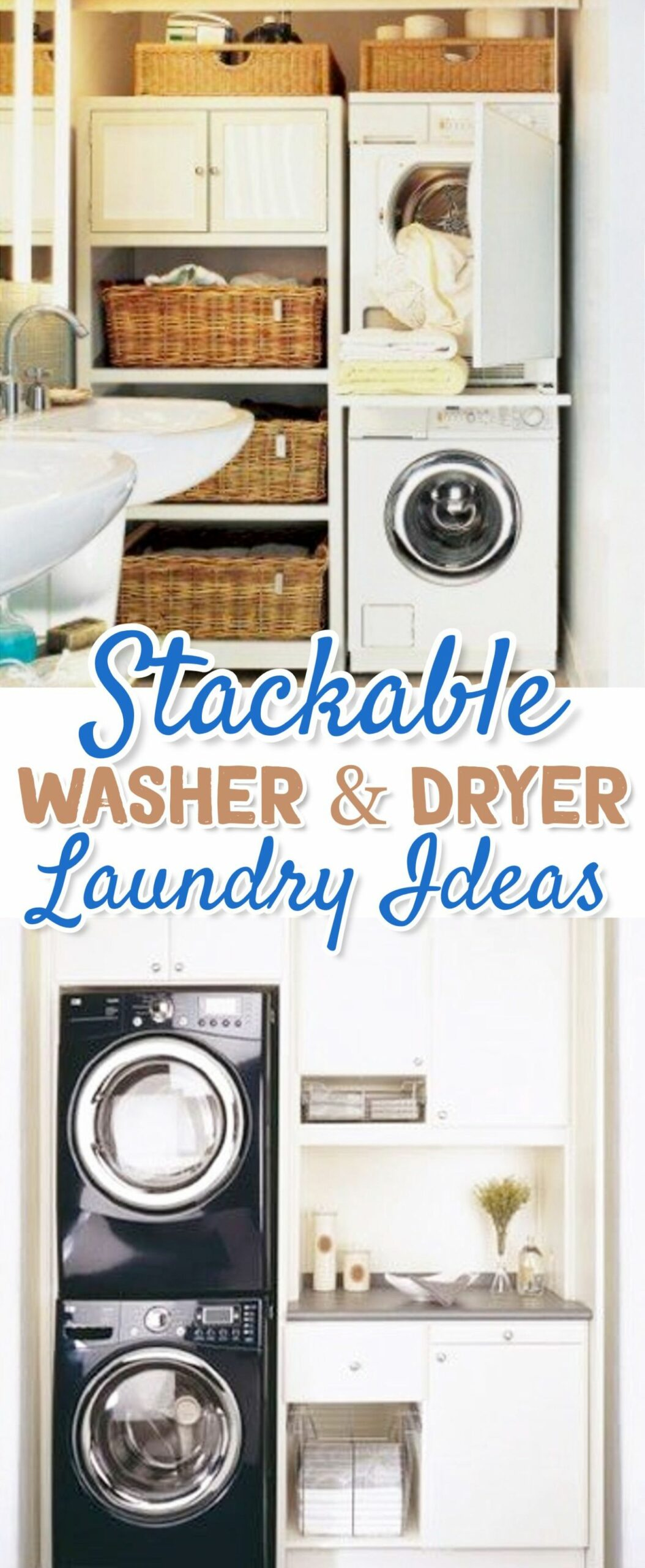 Small Laundry Room Ideas - Space Saving Ideas for Tiny Laundry ...