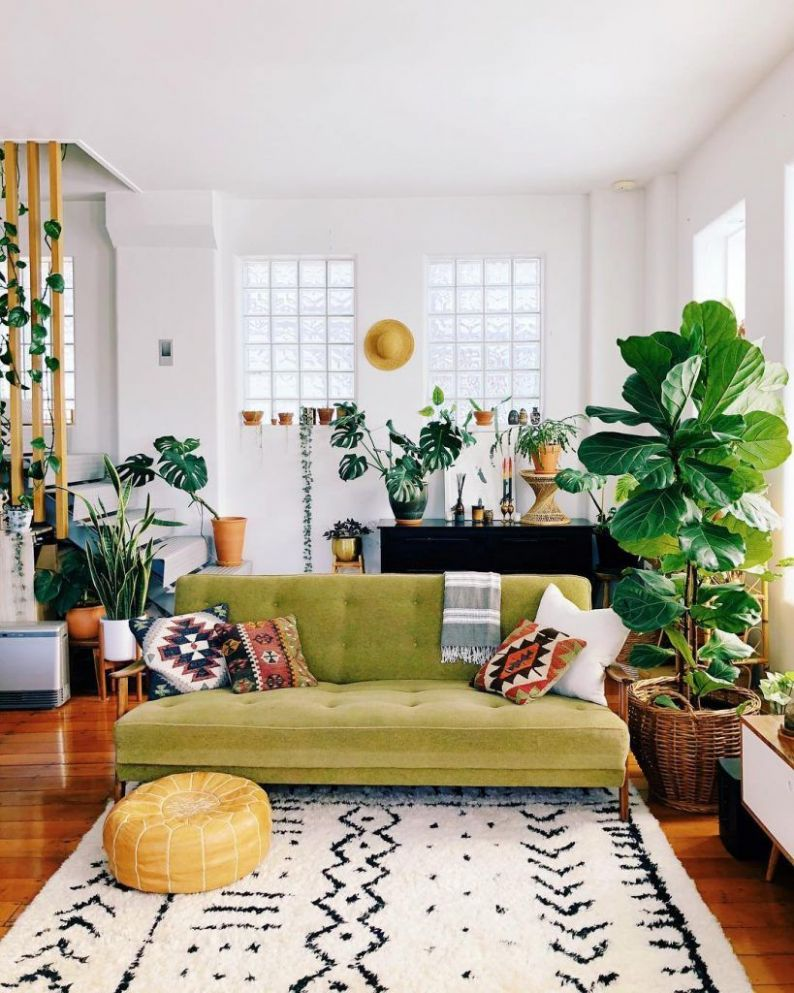 Small Living Room Decor Ideas That'll Open up Your Space | Boho ...