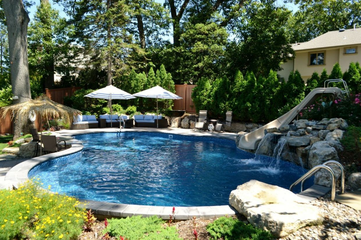 Small Sloped Yard: Fitting a Pool and Other Outdoor Living ..