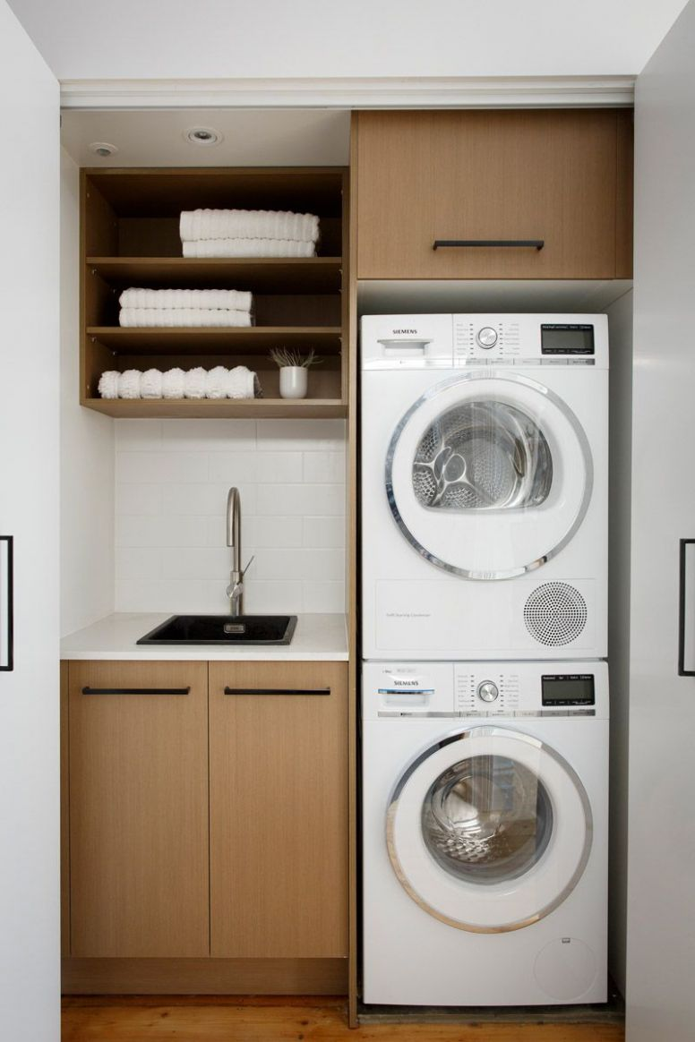 Smart Design Ideas to Steal for Small Laundry Rooms | Home Studio ..
