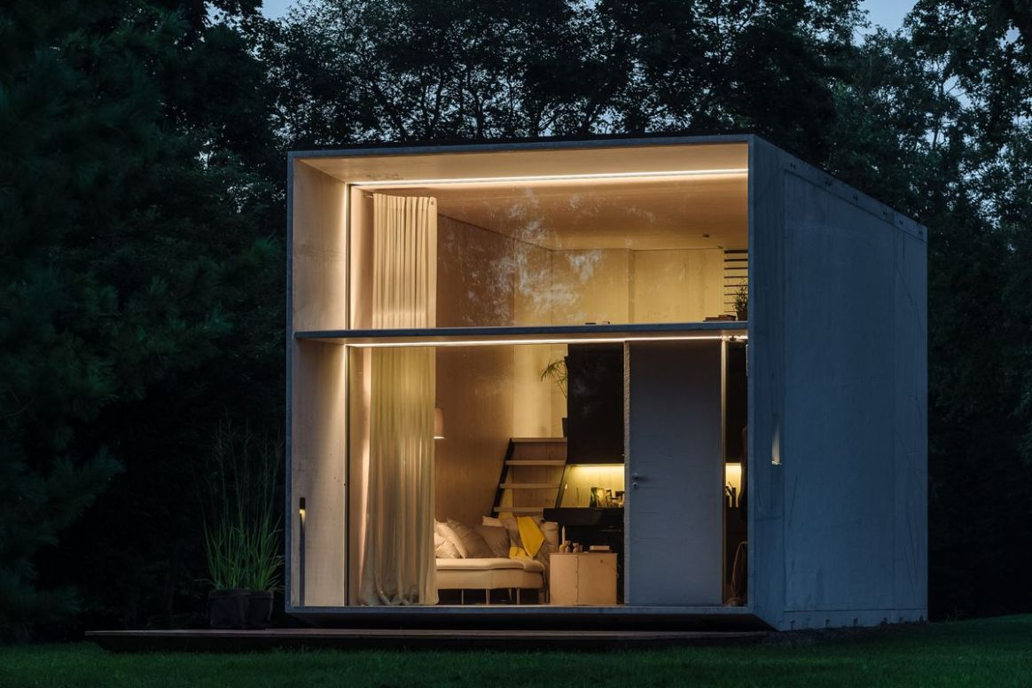 Solar-powered prefab tiny house will do it all for $8K - Curbed