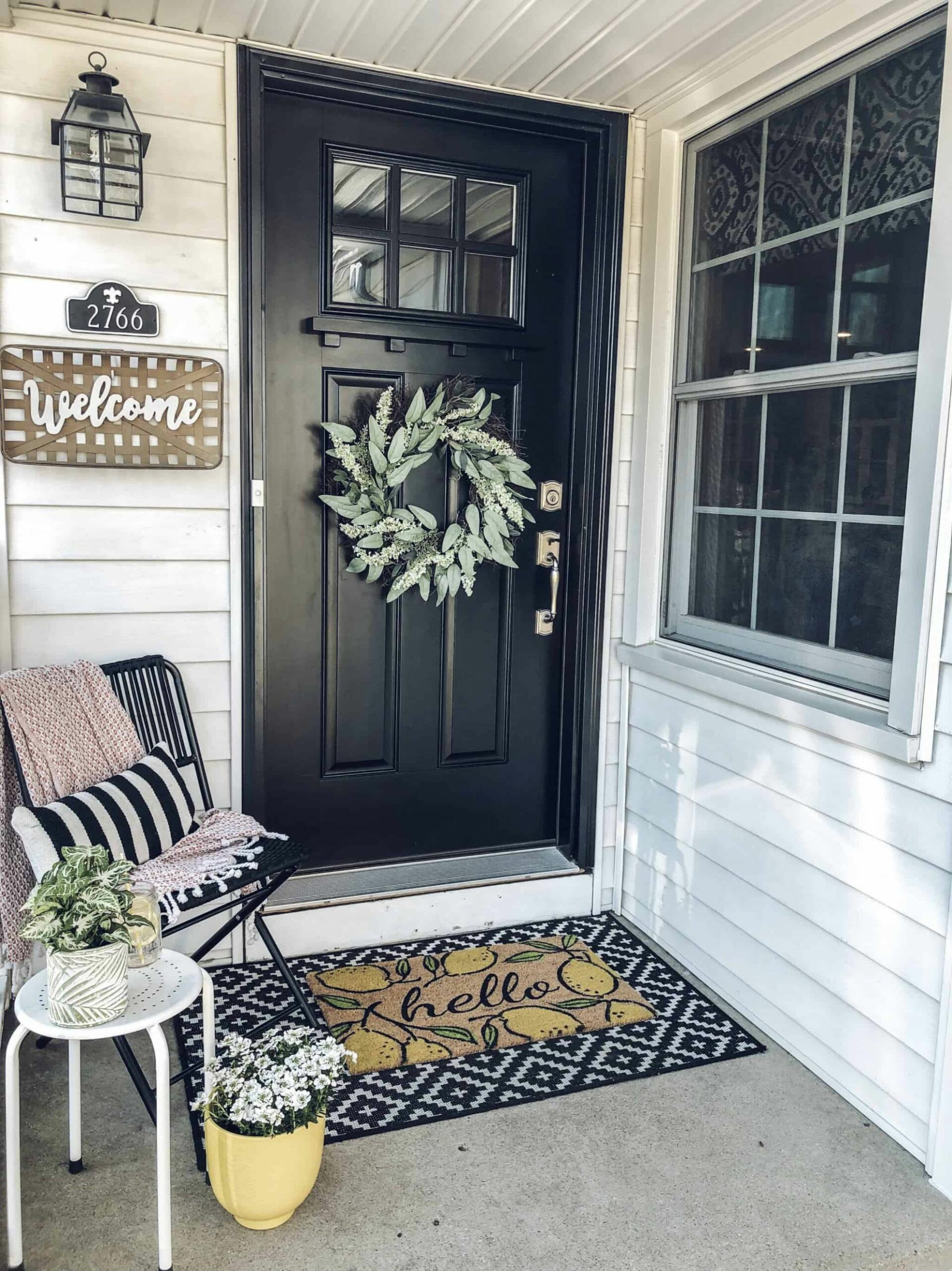 Spring Small Front Porch Decor: 11 Budget Friendly Decorating Ideas ..