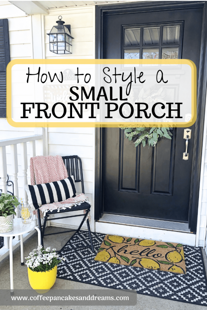 Spring Small Front Porch Decor: 8 Budget Friendly Decorating Ideas ...