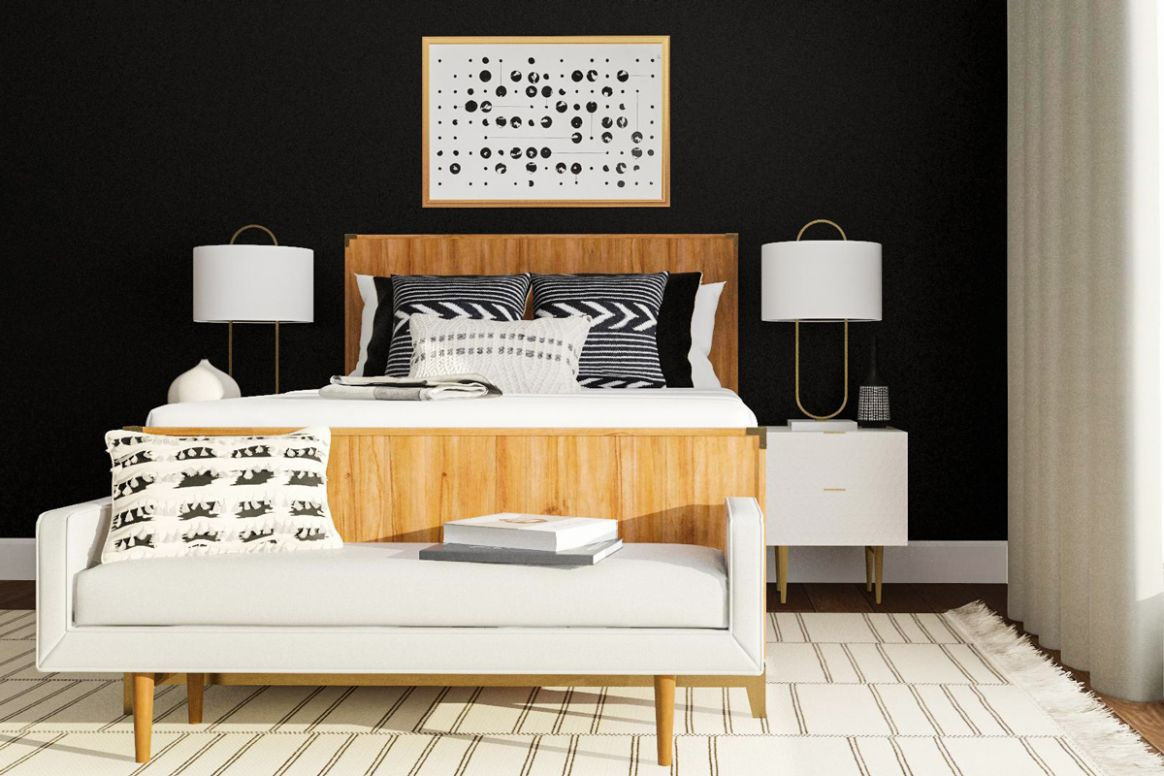 Steal These 11 Black and White Bedroom Design Ideas | Modsy Blog - bedroom ideas black and white