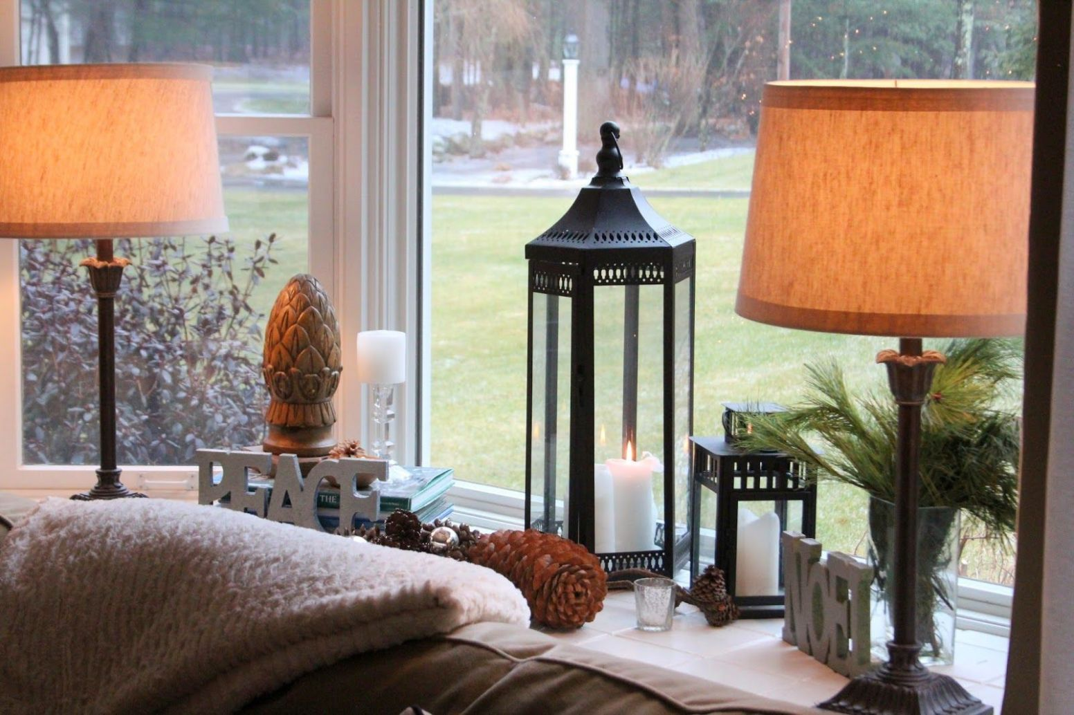 Styling Bay Window Sills | Bay window living room, Window sill ...