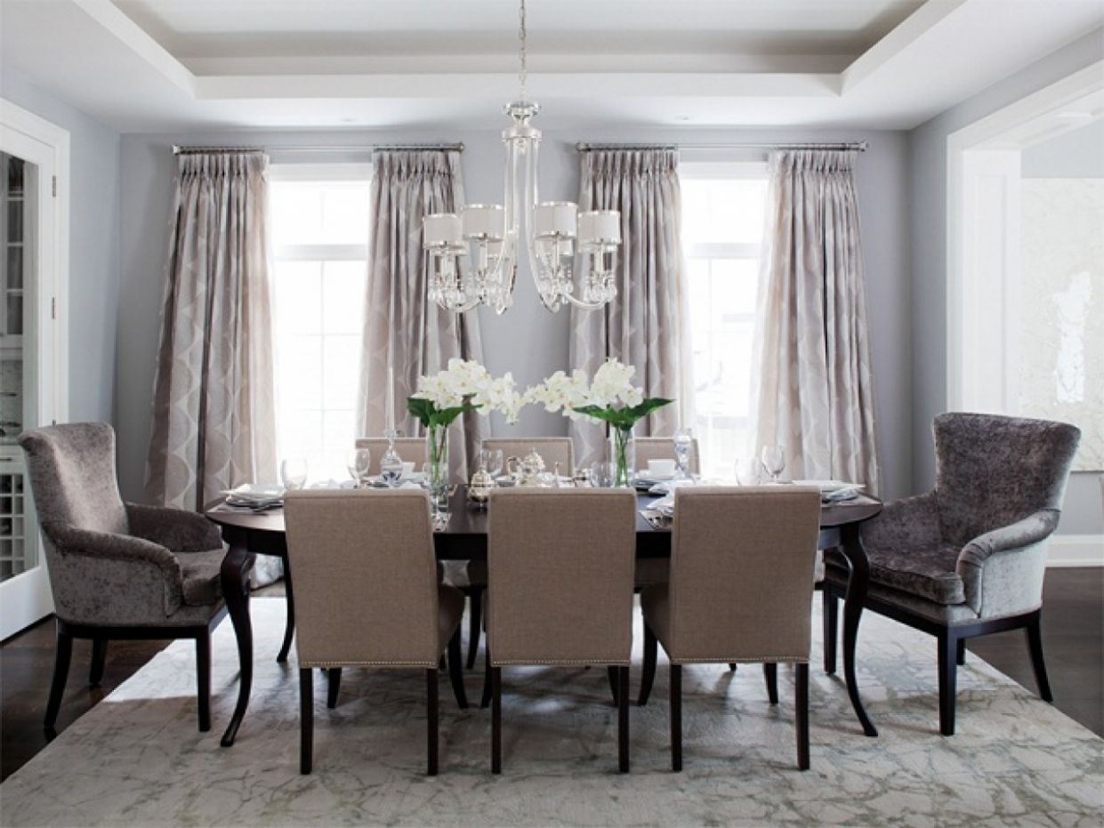 Stylish Gray Dining Room Idea Blue Grey Set And Best Furniture ..