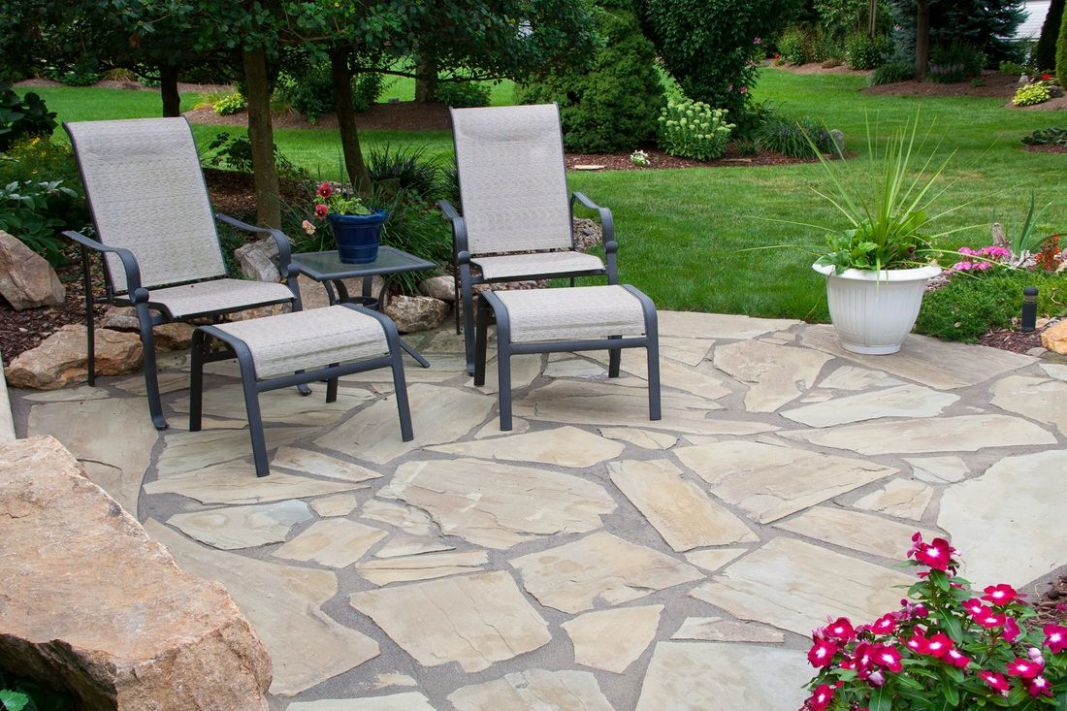 Summer is Here! Try These Natural Stone Patio Ideas - backyard ideas stone