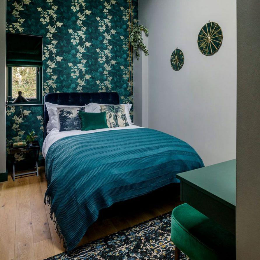 Teal bedroom ideas - drift off in a snug yet stylish sanctuary