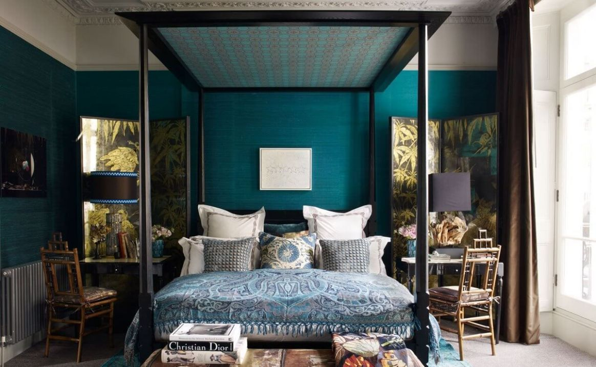 Teal Bedroom Ideas for Blue and Green Lovers   11 in 11