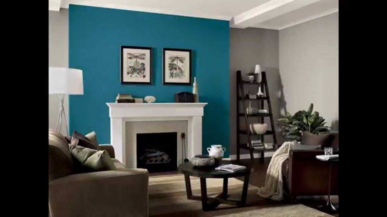 Teal living room decorations ideas - YouTube