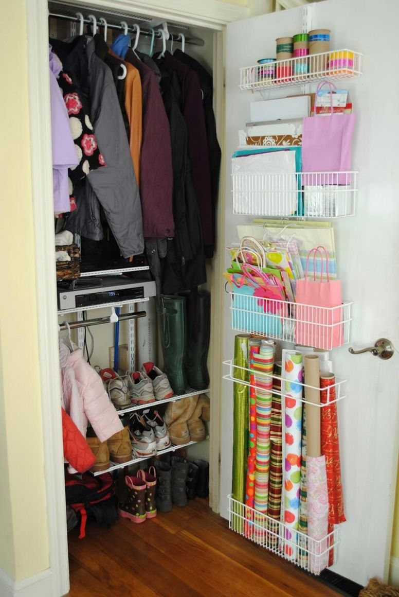 The Apartment Closet Ideas for a Small Area : Creative Diy Small ...